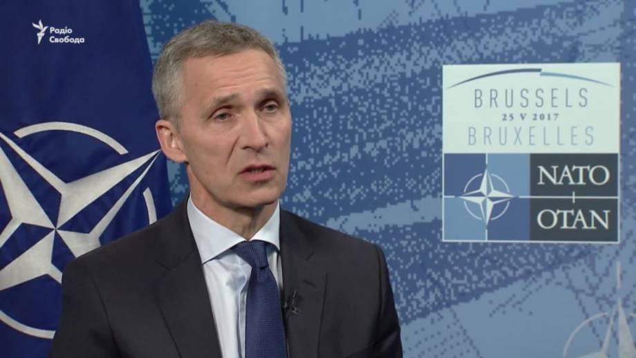 Столтенберґ: НАТО хочет иметь более тесное партнерство с Украиной (видео)