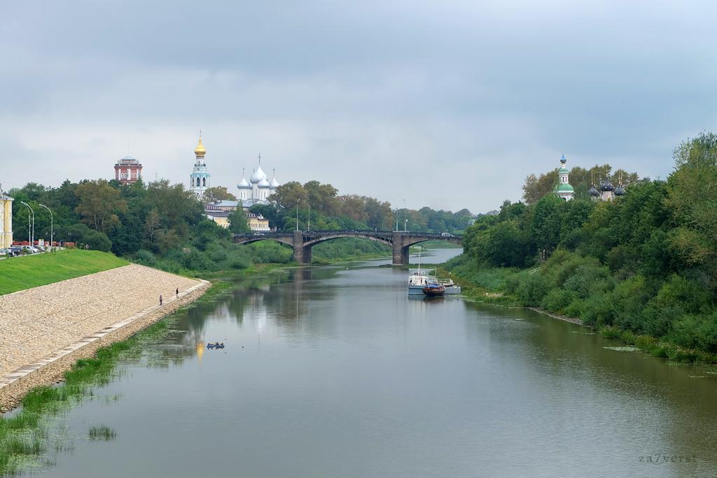 Вологда, Октябрьский мост