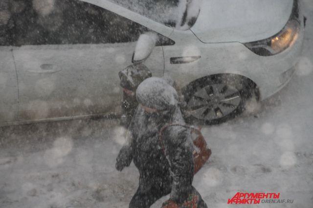 Снегопад вызвал транспортный коллапс вСамаре