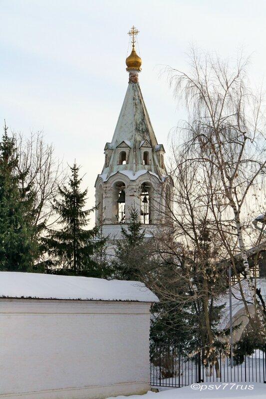 Храм Казанской Иконы Божией Матери. Колокольня.