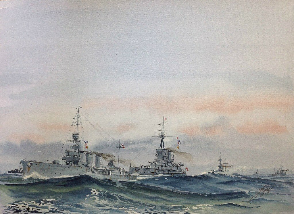 HMS Caroline is a decommissioned C-class light cruiser of the Royal Navy that saw combat service in the First World War and served as an administrative centre in the Second World War.