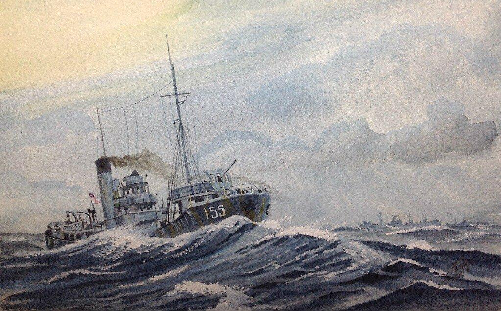 Armed Trawler 'Stella Pegasi'