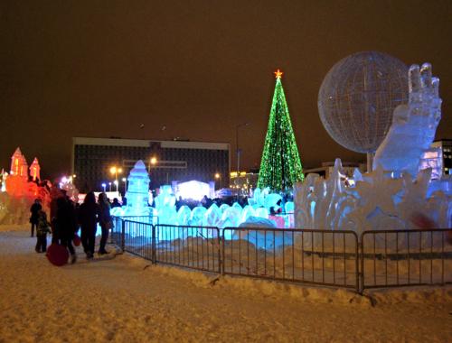 Ледовый городок Пермь 2017  - Интригующие Лучшие гадания на Оригинальные подарки к Новому году 2017