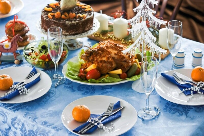 Новогодний стол: все тонкости праздничного застолья