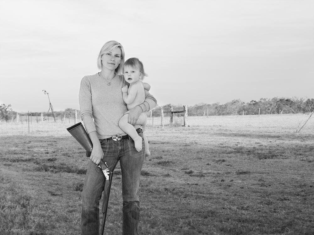 3. Александра и Труэтт Хьюстон, Техас Ithaca 20-gauge side-by-side (Lindsay McCrum)