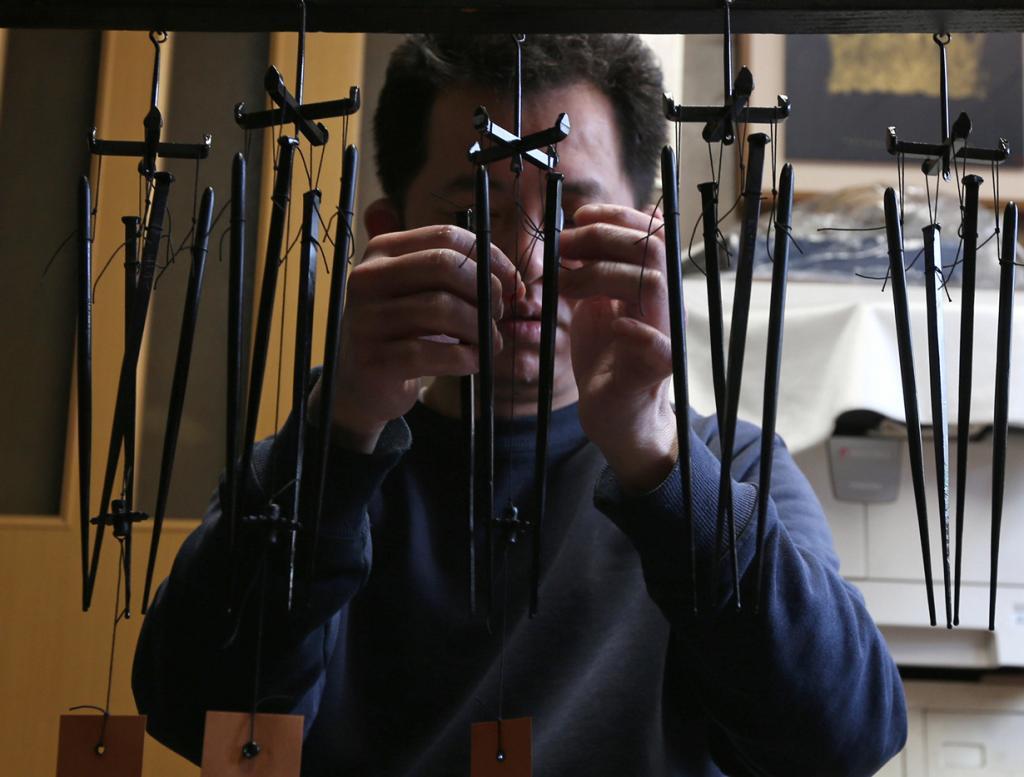 Тысячелетнее кузнецкое искусство Мётин