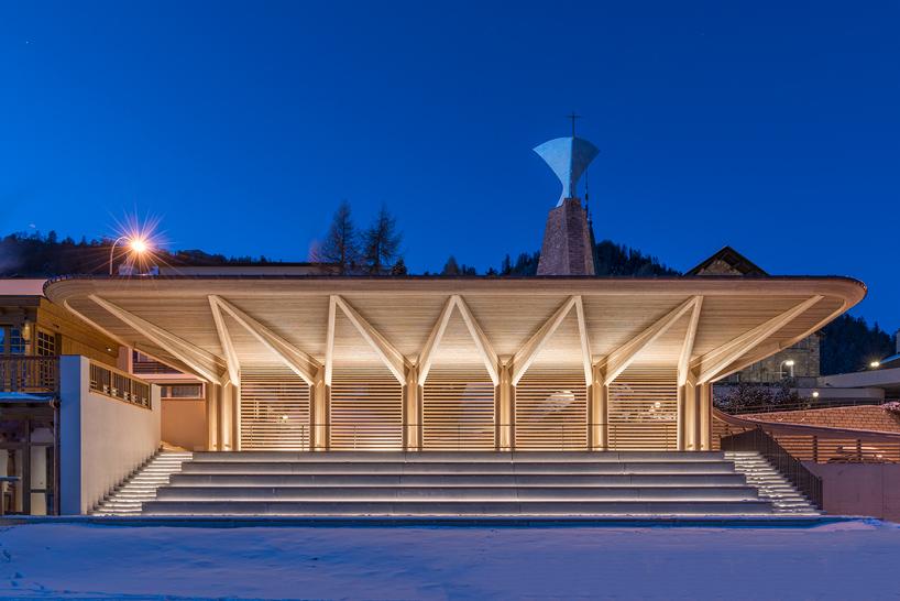 Восстановленный исторический павильон в Швейцарии (10 фото)