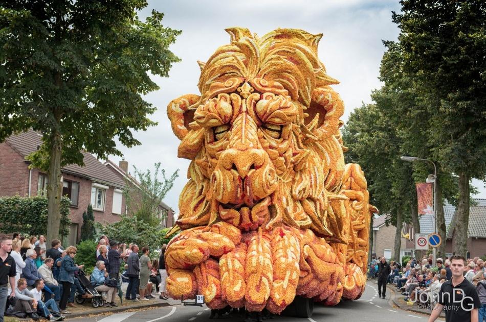 Как прошел с ежегодный голландский парад цветов в Нидерландах (11 фото)