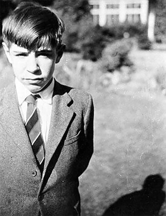 Юный Стивен Хокинг.