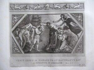 Крещение Христа (От Матфея, II, 13-16; От Марка, I, 9-11; От Луки, III, 3-12)
