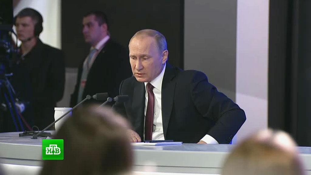 Путин хочет разобраться вделе россиянки, получившей срок загосизмену