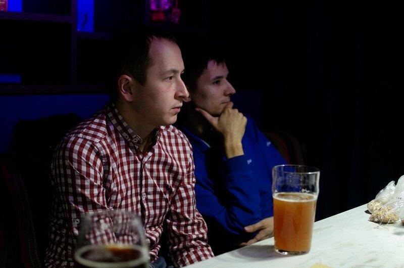 Третья Лекция Lonely Pine Brewery в Fidel'. Пивоварение