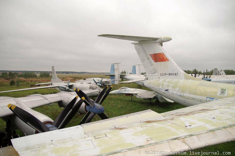 Ту-114 в Монино