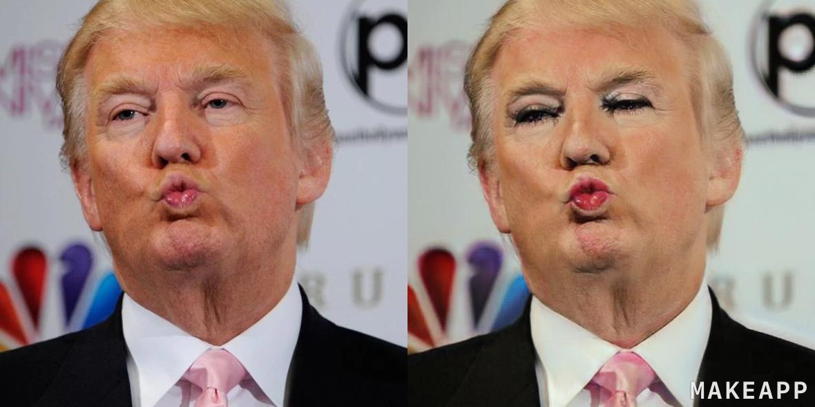 Компьютер научили снимать макияж с фотографий и протестировали на знаменитостях (10 фото)