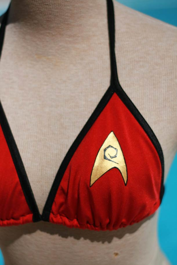 Doctor Who Bikini ? - The custom bikinis by Lisa Galetto