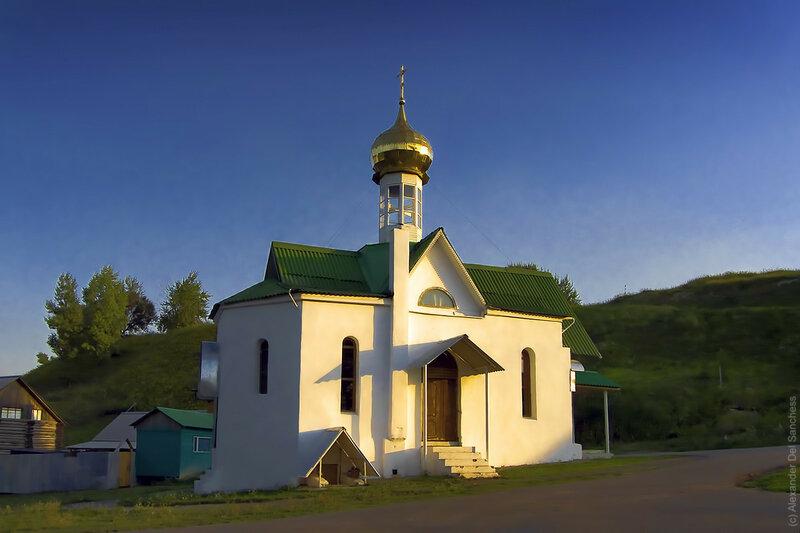 Храм на меловой горе, Белгород. Фото Sanchess