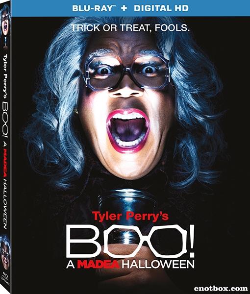 Хеллоуин Мэдеи / Boo! A Madea Halloween (2016/BDRip/HDRip)