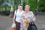 Татьяна Сидорик с мамой Таисией Титовой