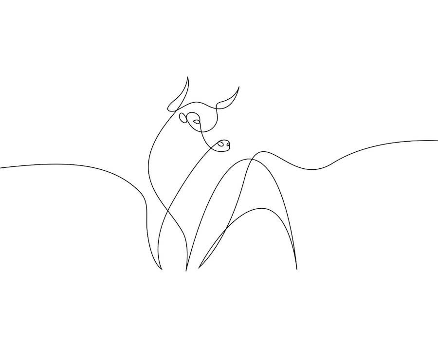 New Series of Animals in One Line by Differantly