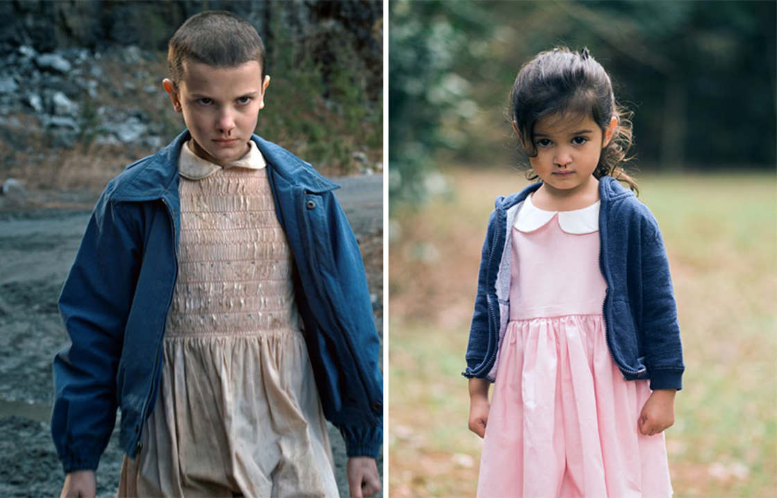 This 3-year-old girl dresses up as famous women to support her sick grandmother