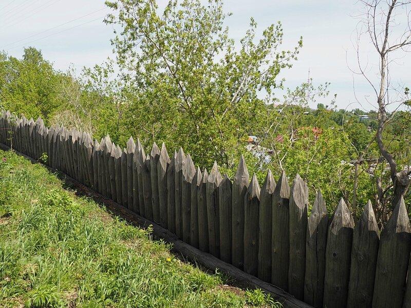 Россия, томский острог (Russia, Tomsk fort)