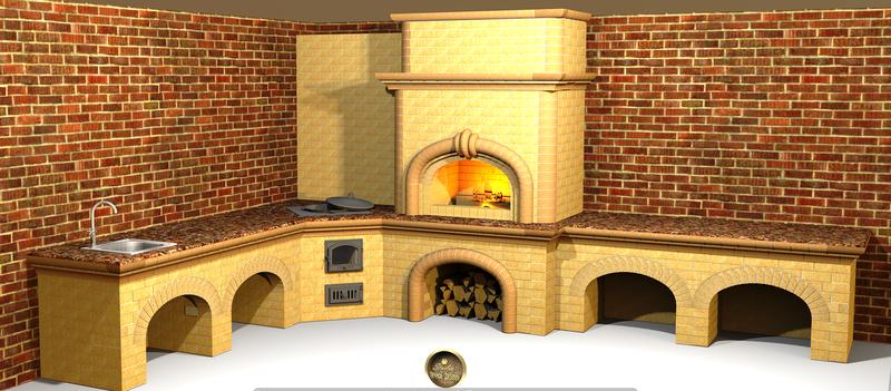 Поэтому любители готовить подходят к строительству барбекю очень серьезно электрические камины в нижнем новгороде