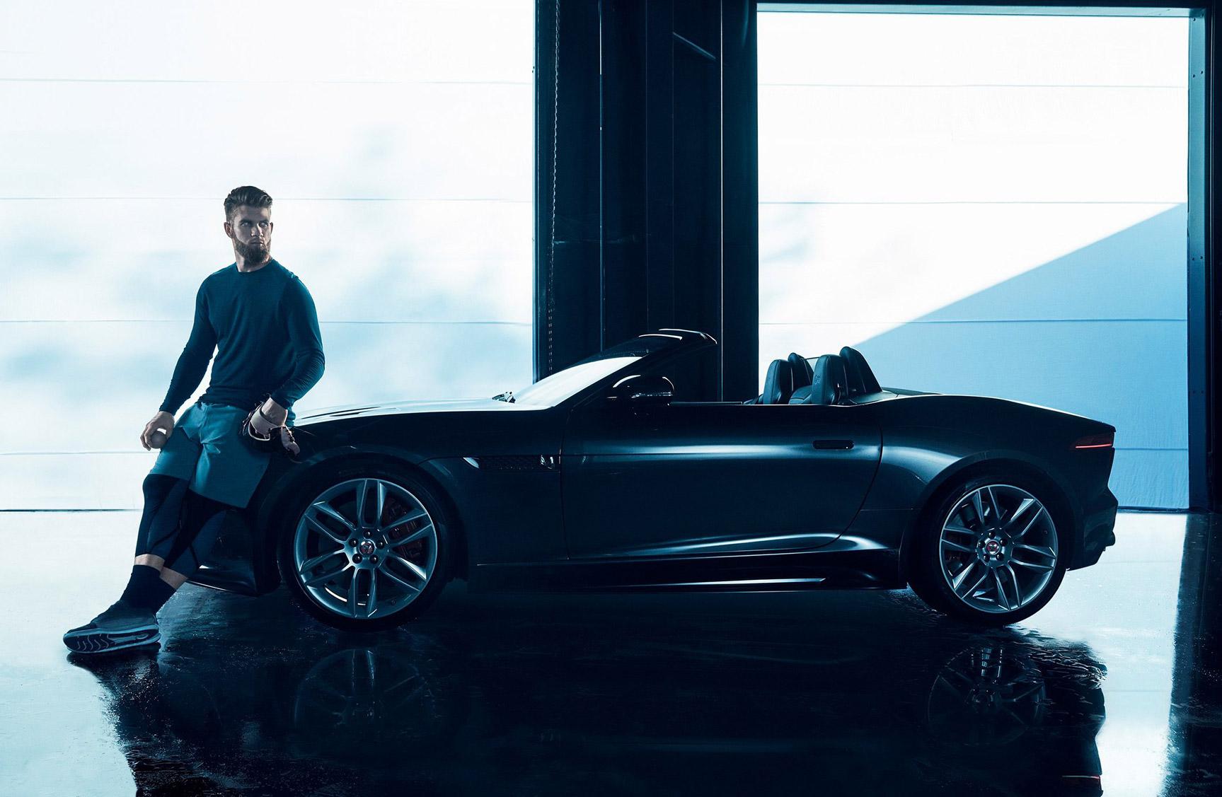 Брайс Харпер / Bryce Harper by Kai Regan – Jaguar F-type 2017