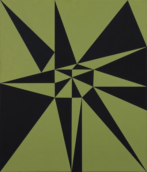 "Helmut Federle, ""Edelweiss (Form) IX"", 2005 © Helmut Federle"