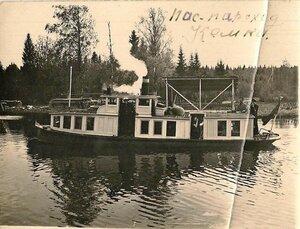 Окрестности Луги. Пассажирский пароход