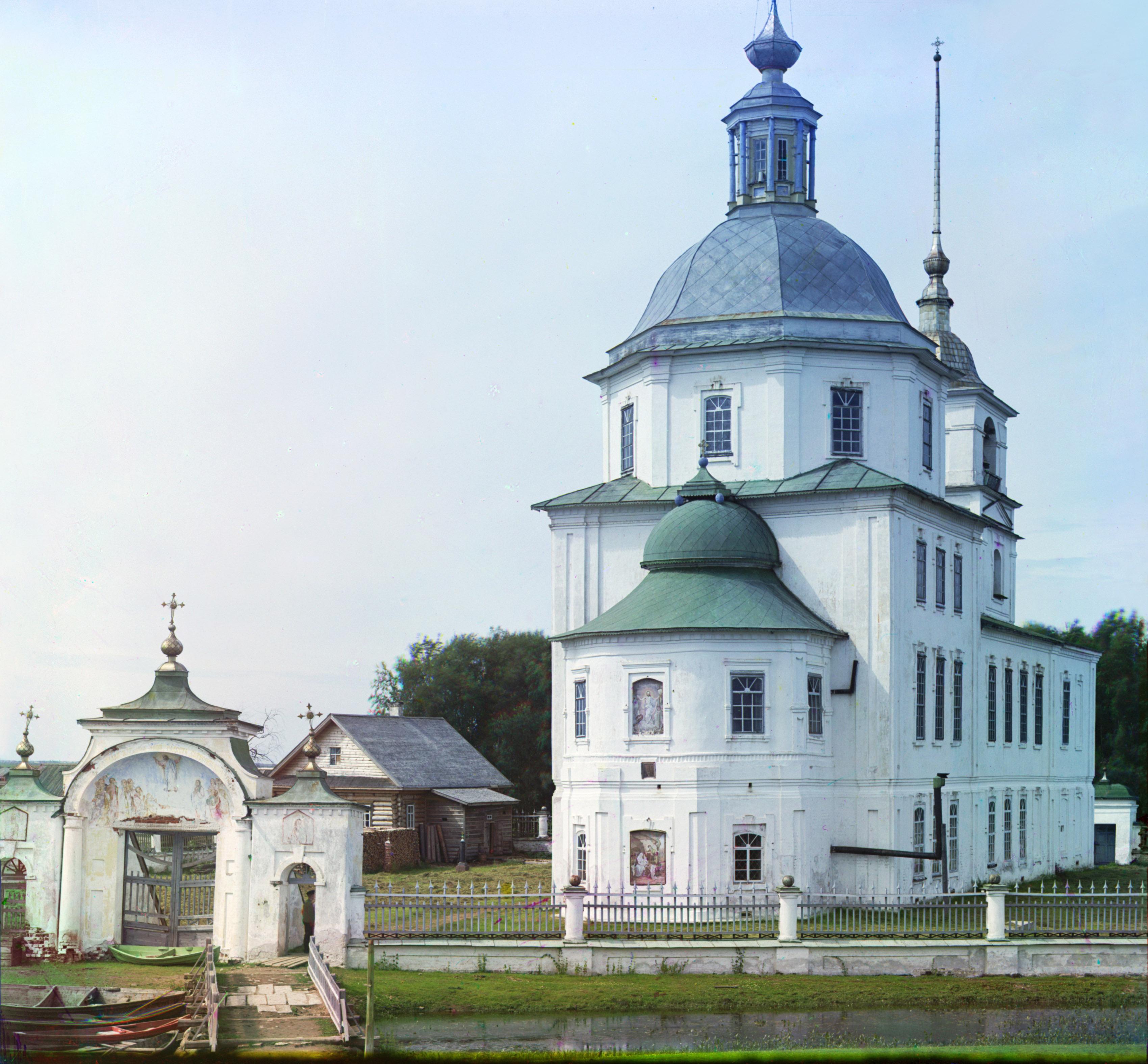 Посад Крохино. Церковь во имя Рождества Христова