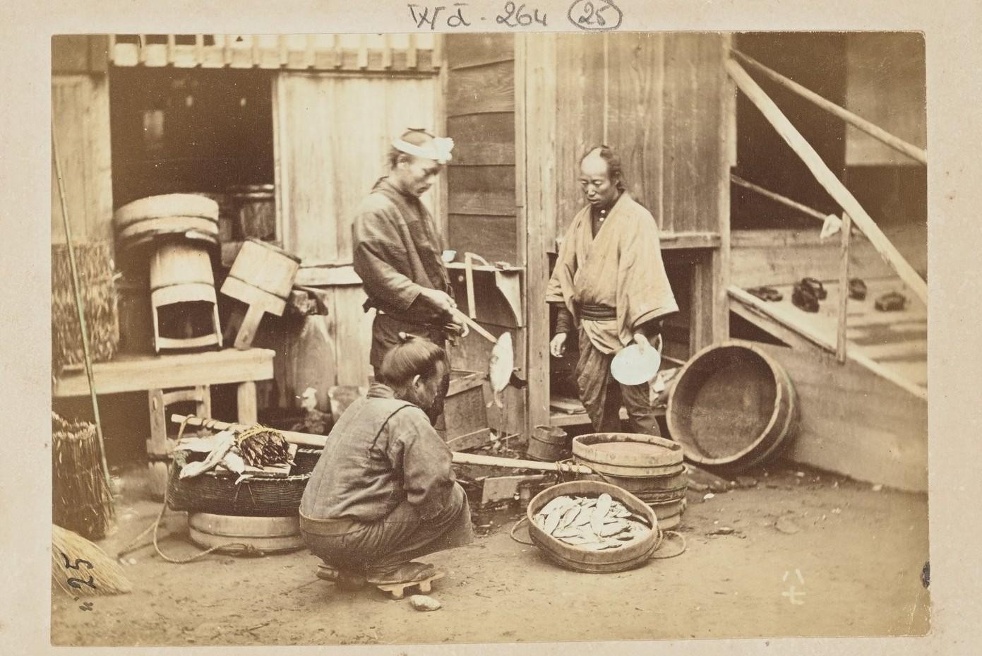 Торговцы рыбой