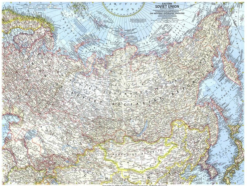 1967 - National Geographics - USSR Eastern