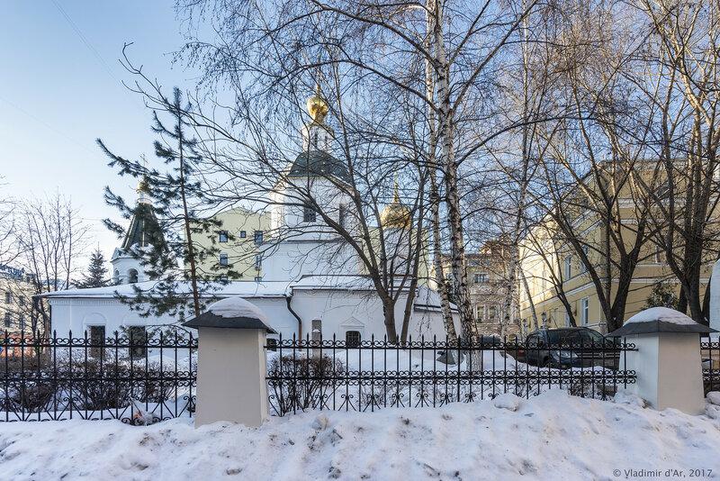 Храм в честь Вознесения Господня на Никитской (Малое Вознесение)