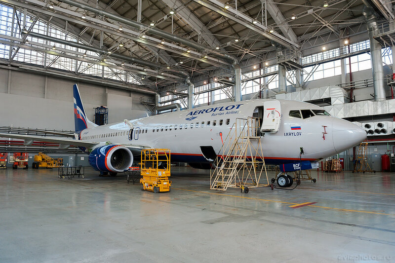 Boeing 737-8LJ (VP-BCF) Аэрофлот 0715_D703634