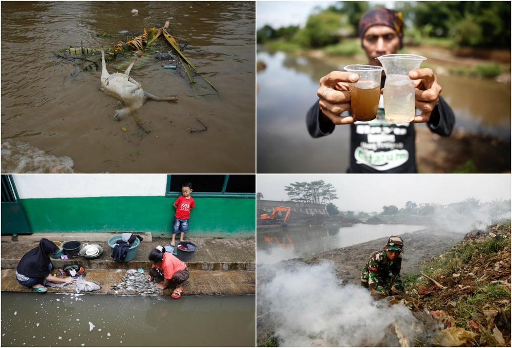Правительство Индонезии собирается очистить самую грязную реку
