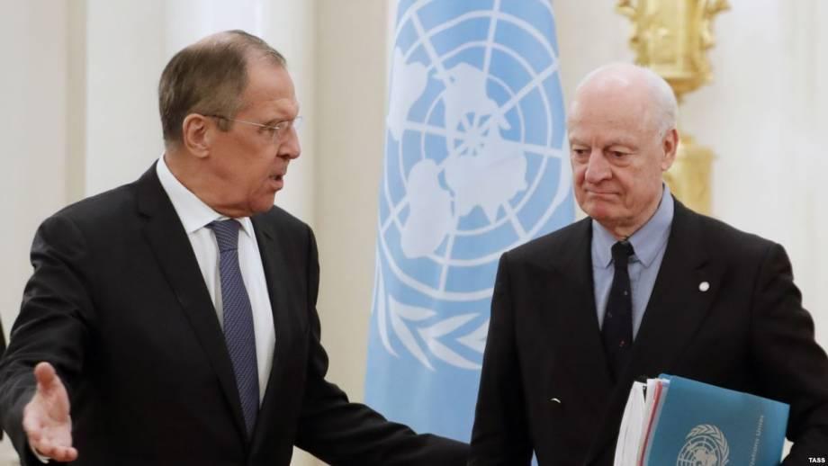 Москва заявила, что Сирия контролирует большую часть пригорода Дамаска