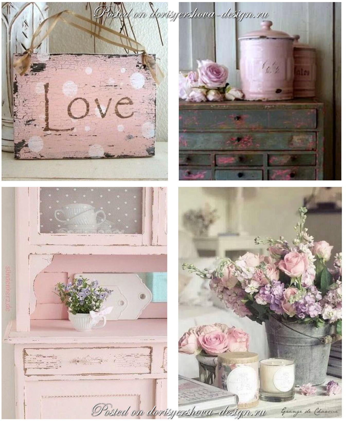 пудровые цвета, роза и розовая пудра