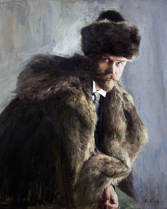 Кириллов Владимир. Портрет Кустодиева Б.М.