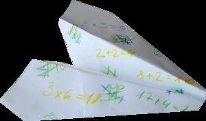 бумажные самолетики