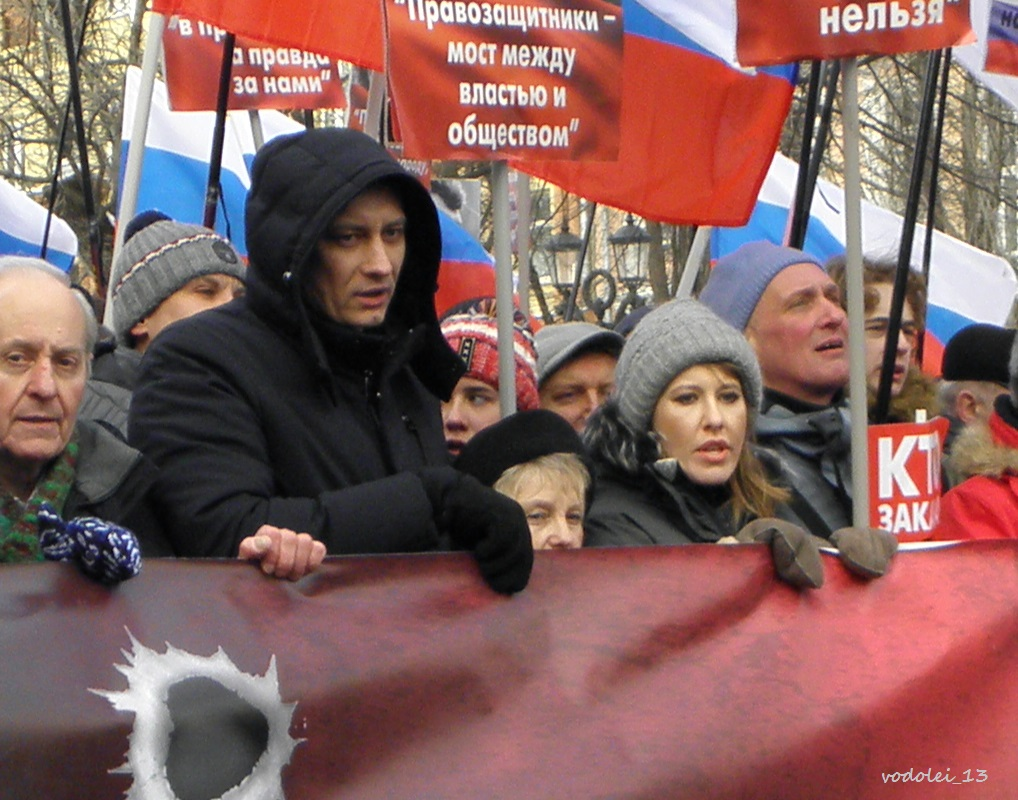 Марш памяти Б.Немцова 25.02.2018г.