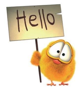 Открытки. Международный день приветствий. Привет, цыпленок открытки фото рисунки картинки поздравления