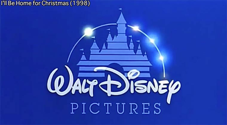 Walt Disney logo variations from 1985 to 2014