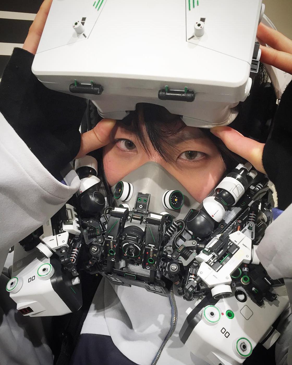 Cyberpunk – The impressive creations of Hiroto Ikeuchi