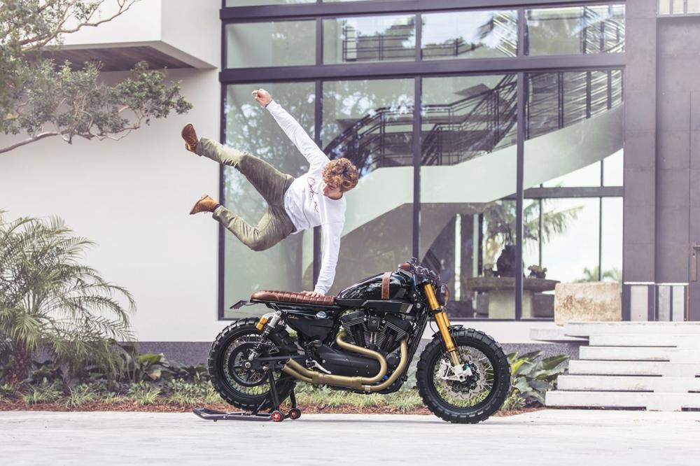 Cohn Racers: кастом Harley-Davidson XR1200X