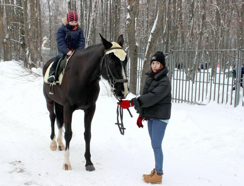 Катания на лошадях от конного спортклуба