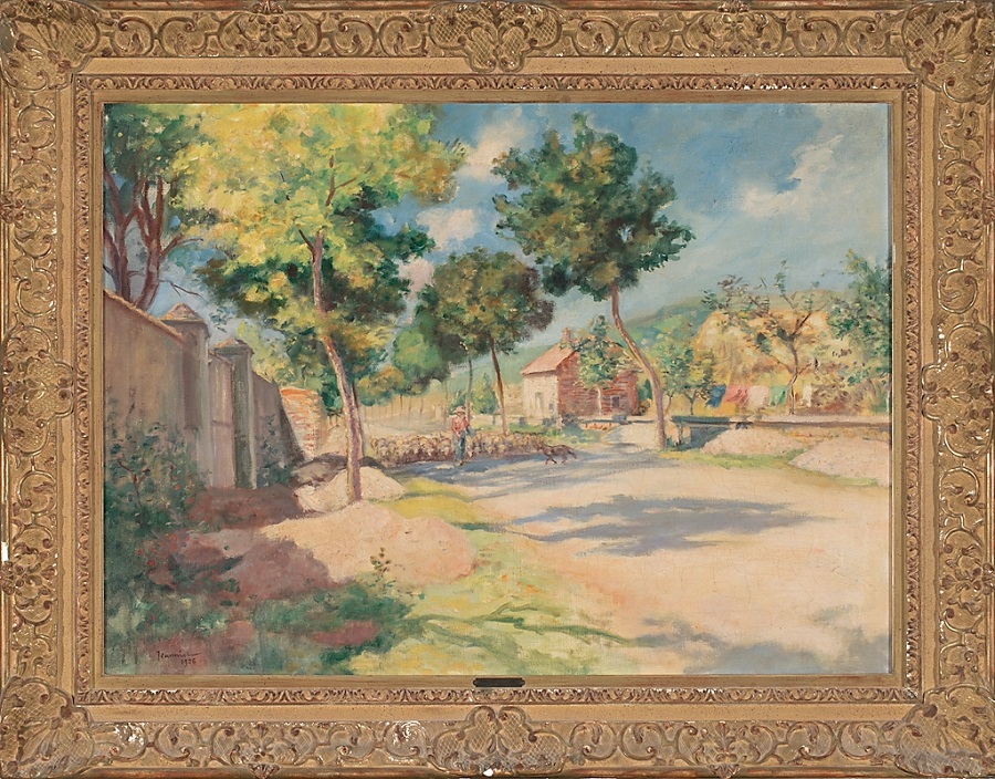 Countryside view, 1926