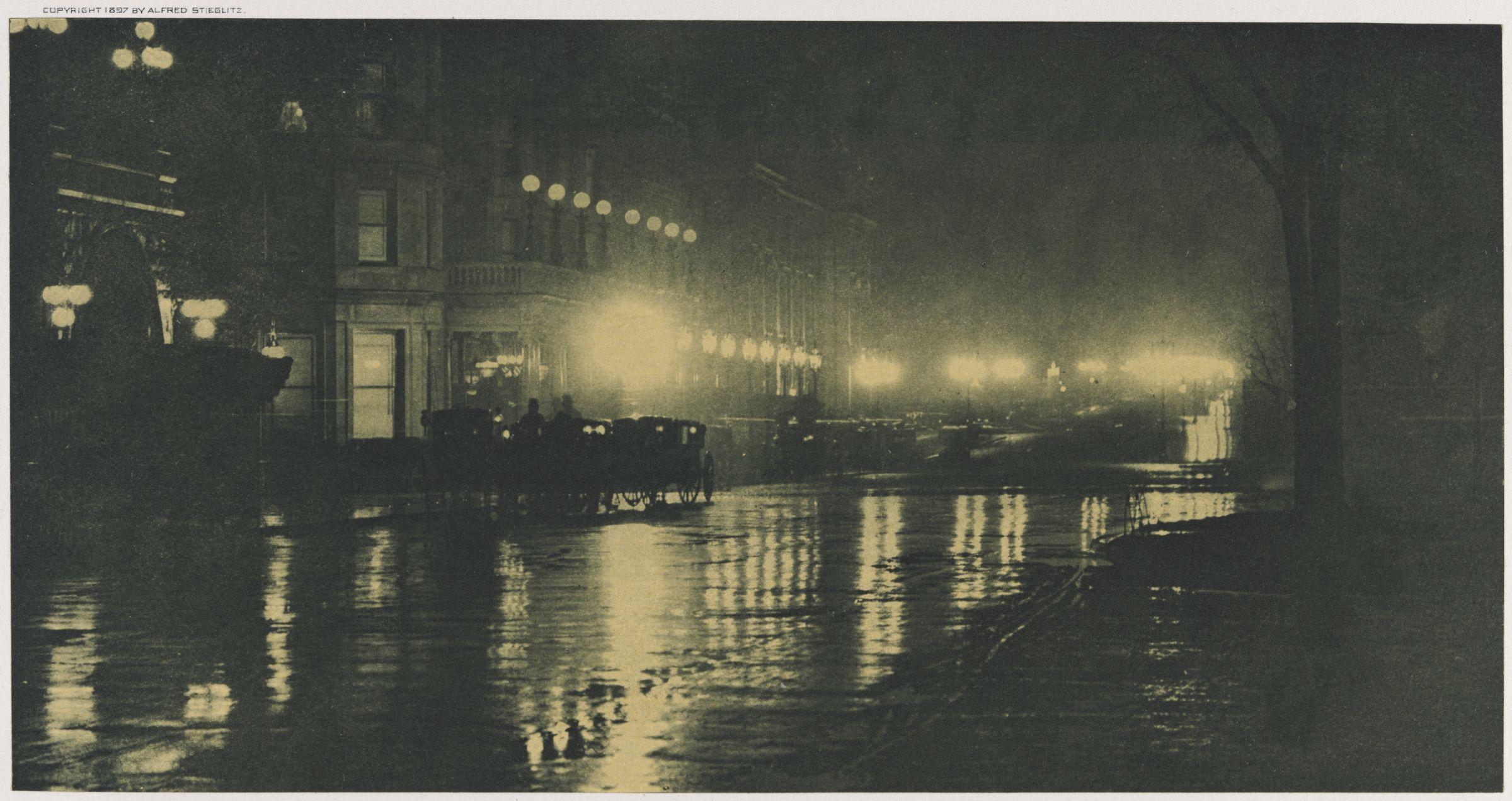 1897. Ночные огни, Нью-Йорк