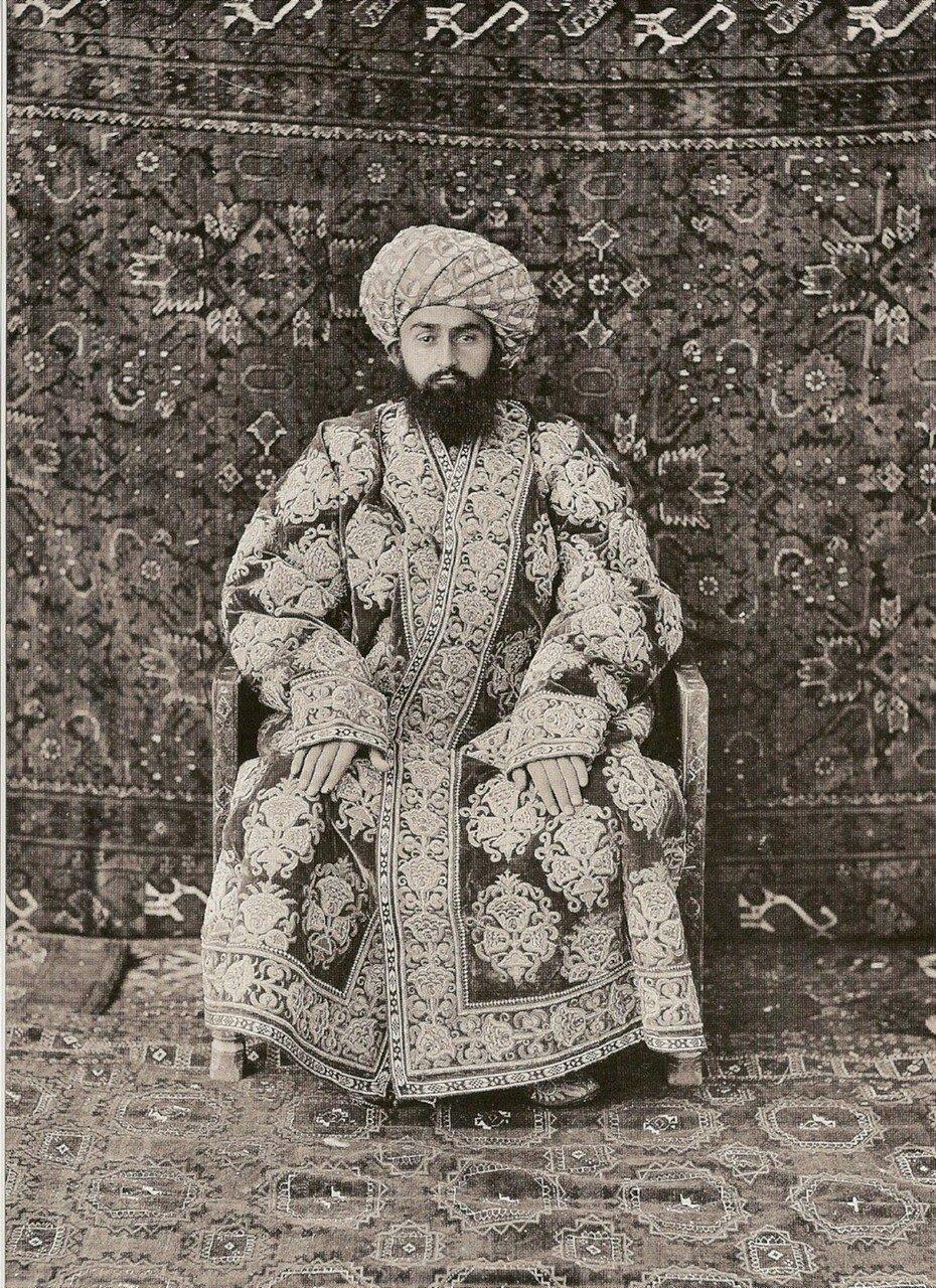 Эмир Бухары Абд аль-Ахад-хан (1859-1911)