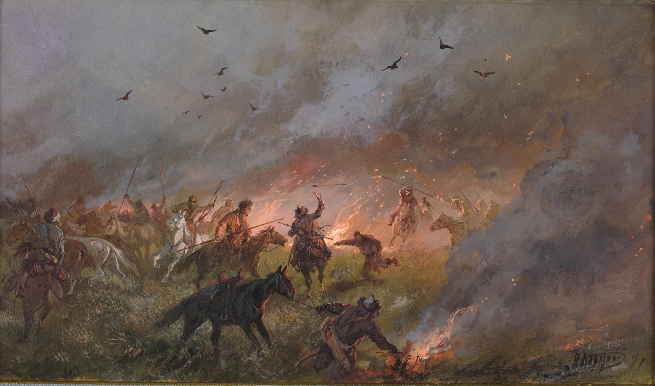 12. Пугачевщина в Сибири. Поражение скопищ самозванца под Троицком 21 мая 1774