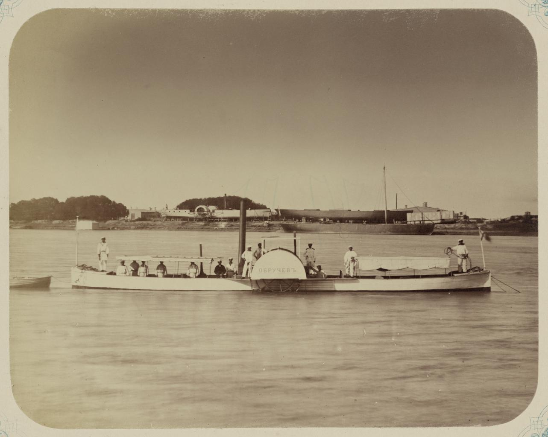 Пристань аральской флотилии